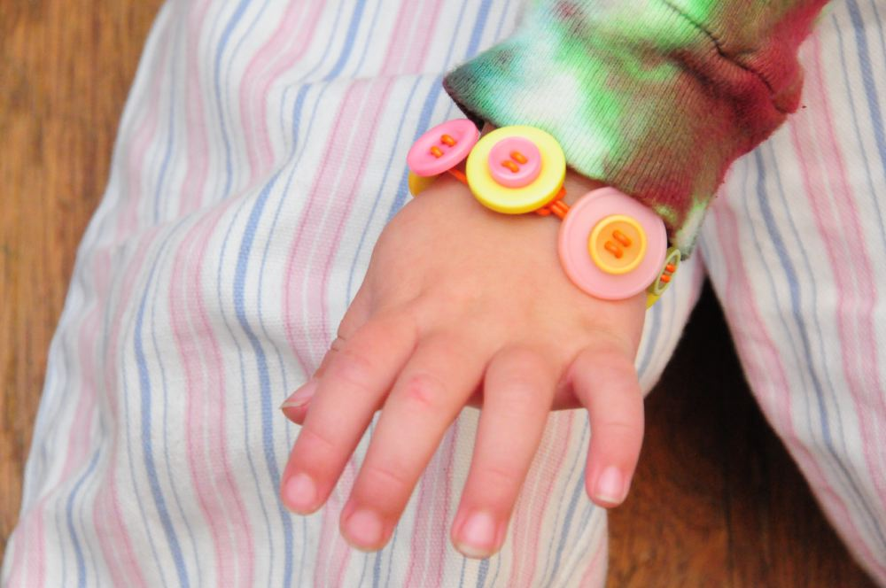 Button Bracelet