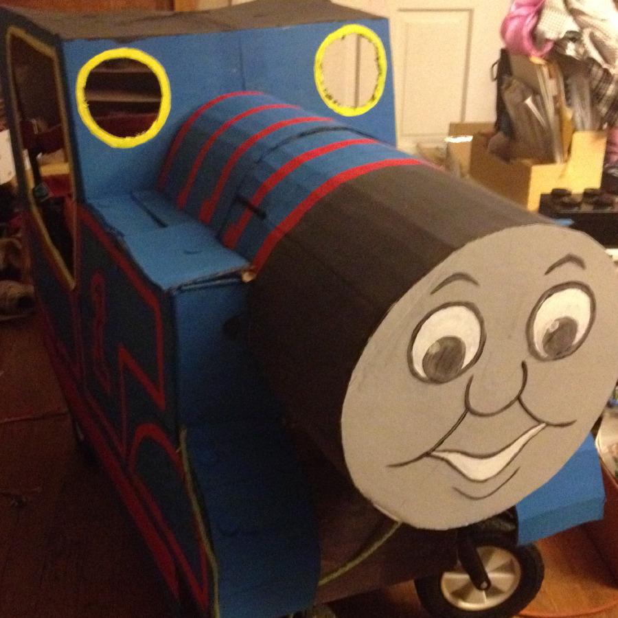 Thomas Mostly Painted