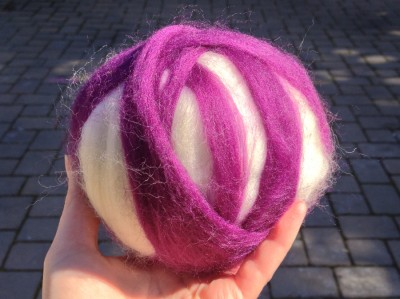 roving wrapped ball