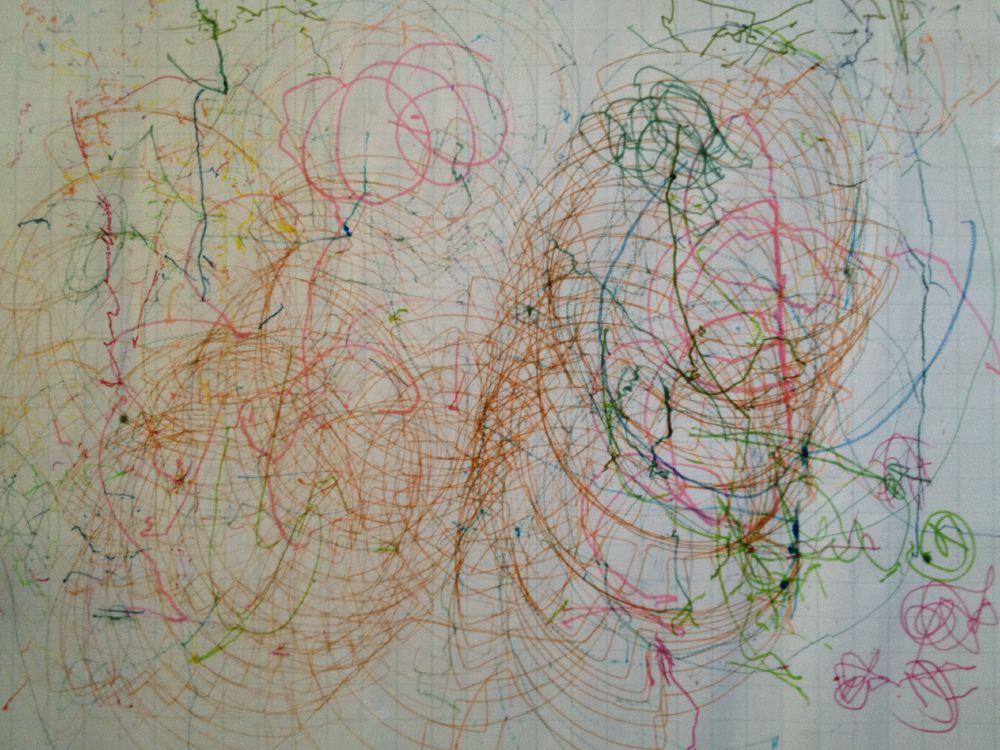 Scribble Drawing For Kids : Scribble bots